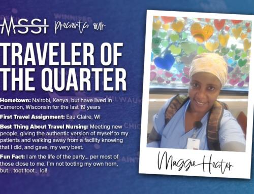 Traveler of the Quarter: Maggie Hester