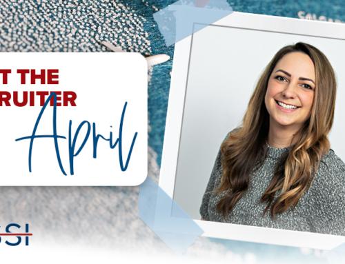 Meet the Recruiter: April