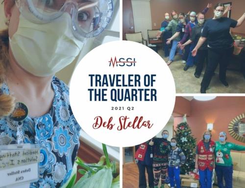 Traveler of the Quarter: Deb Steller